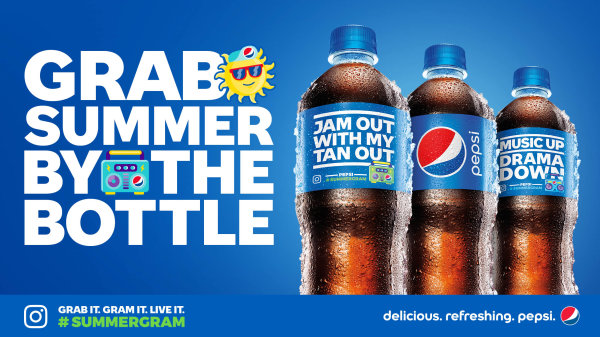 None - Grab Summer by the Bottle with Pepsi!