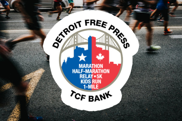 None - Win entry into the International Half Marathon at the Detroit Free Press Marathon