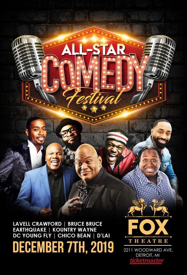 None - Win Tickets to the All Star Comedy Festival