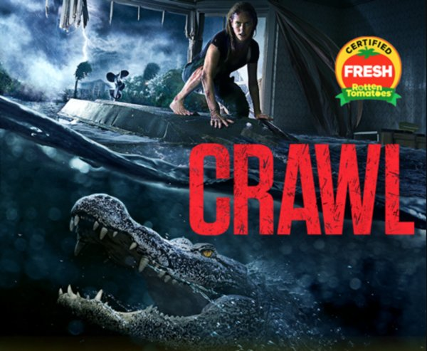 None - Enter to win a copy of Crawl on Blu-ray combo pack!