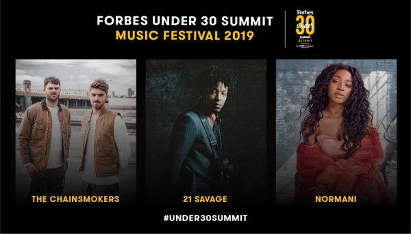 None - Win tickets to the Forbes Under 30 Summit