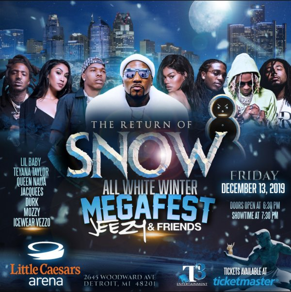 None - Win Tickets to Jeezy The Return of Snow