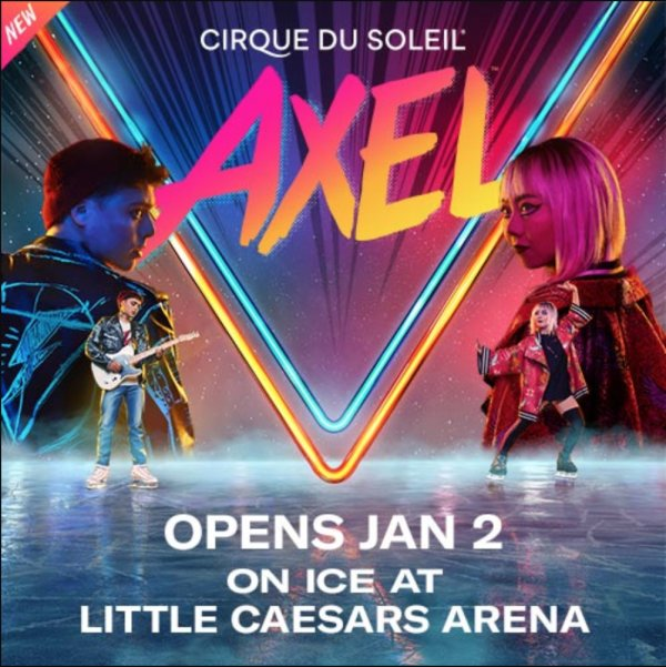 None - Win a pair of tickets to see AXEL
