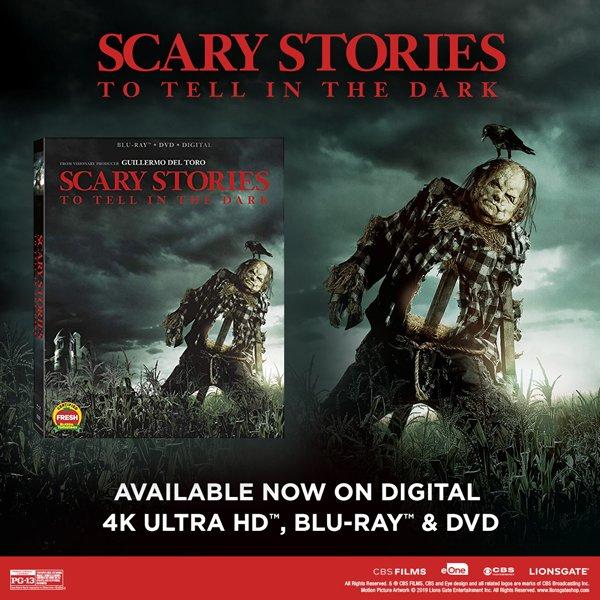 None - Win a copy of Scary Stories To Tell In The Dark!