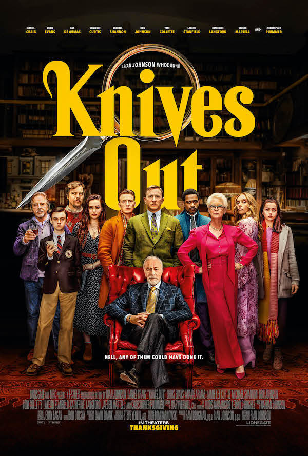 None - Win a pair of passes to the Advance Screening of Knives Out