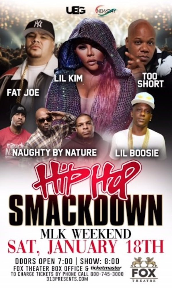 None - Win Tickets to the Hip Hop Smackdown