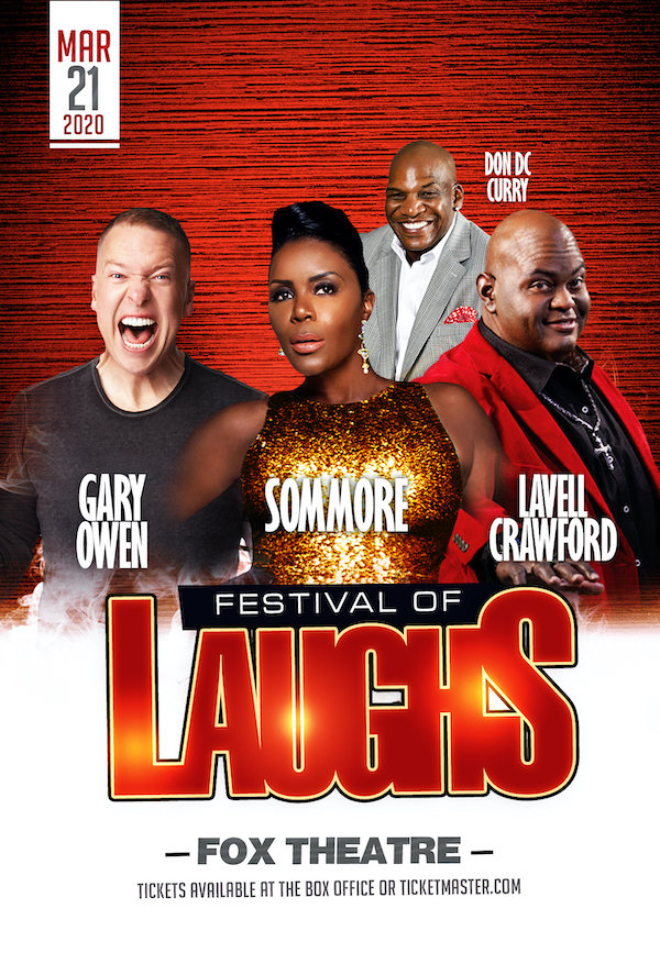 None - Win Tickets to the Festival of Laughs
