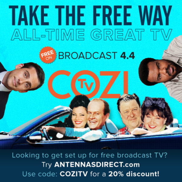 None - Win an Antenna from Antennas Direct courtesy of COZI TV