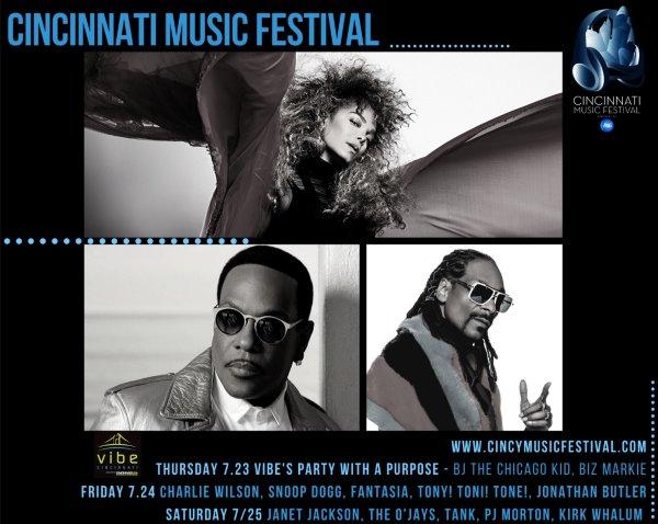 image for Win tickets to Cincinnati Music Festival!
