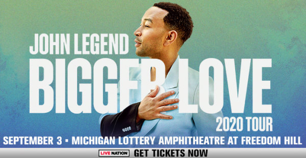 image for Win tickets to see John Legend