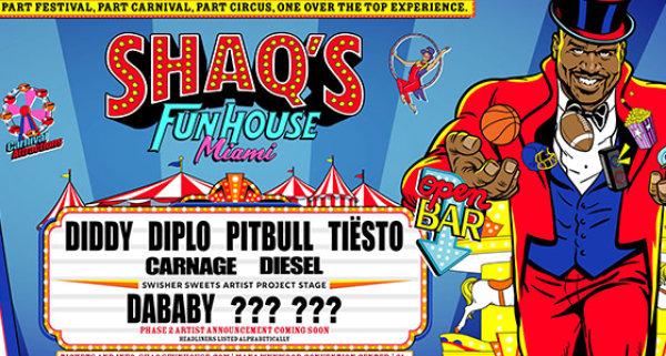None - SHAQ's Fun House