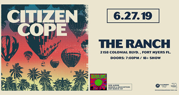 None - Citizen Cope at The Ranch | June 27