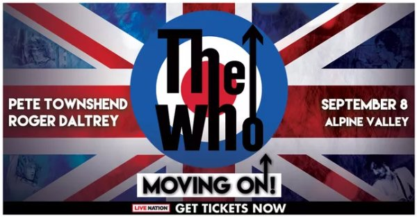 None - Win tickets to The Who at Alpine Valley!