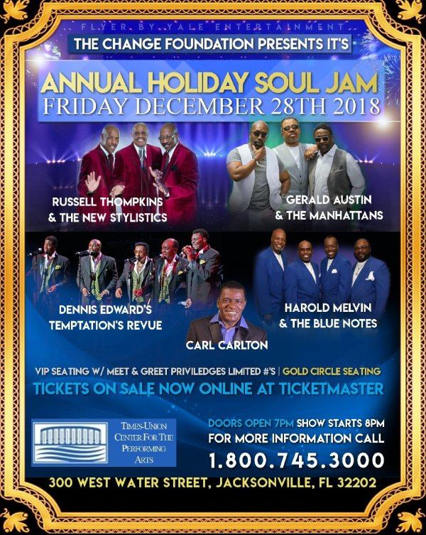 None - Annual Holiday Soul Jam