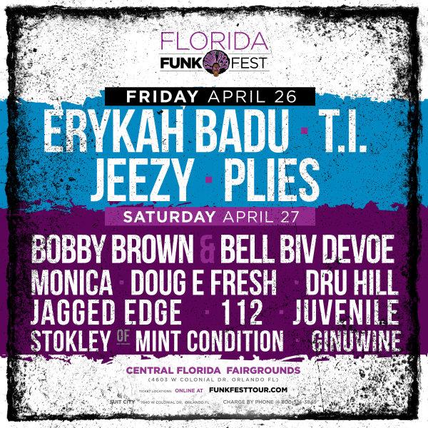 None - Funk Fest Orlando 2019