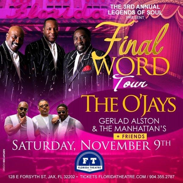 None - The O'Jays Final World Tour!