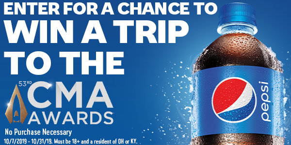 None - Win A Trip To The CMA Awards From Pepsi