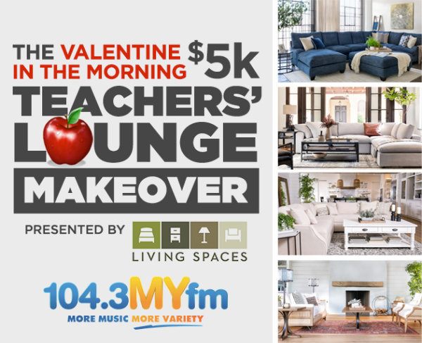 None - The Valentine In The Morning $5,000 Teachers' Lounge Makeover