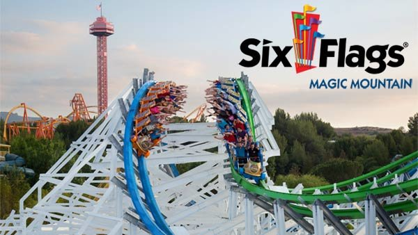 None - Six Flags Magic Mountain (4-pack)