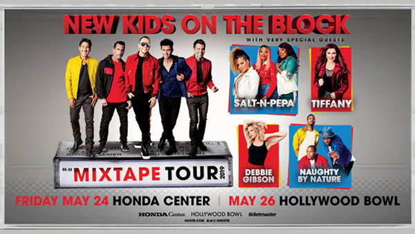 None - New Kids on the Block – MixTape Tour at Hollywood Bowl (5/26/19)