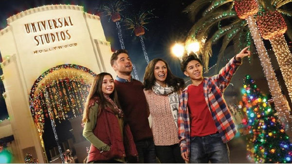 None - Enter For A Chance To Win Tickets to Universal Studios Hollywood™ and Celebrate Christmas (4-pack)