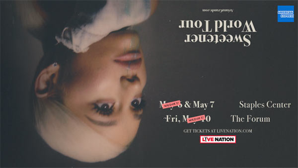 None - Ariana Grande at STAPLES Center (5/7/19)