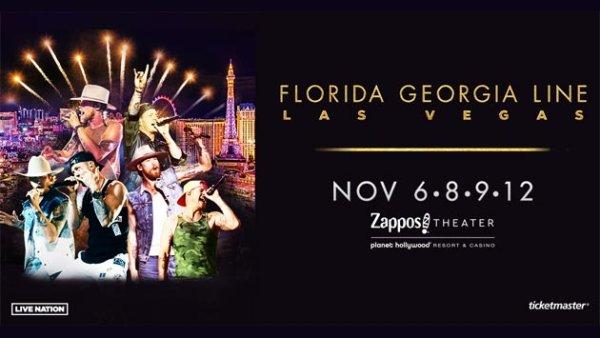 None - Win a trip to see Florida Georgia Line's Las Vegas Residency (11/8-11/10)