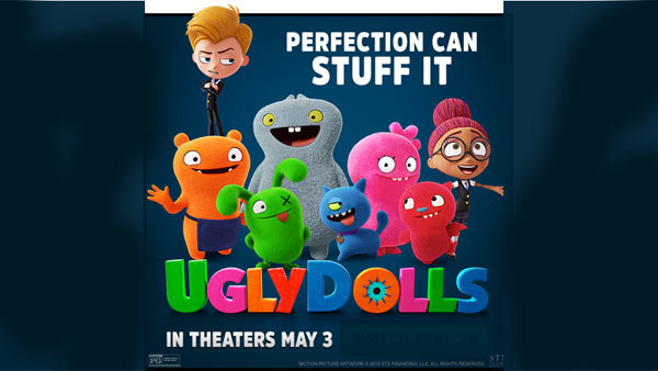 None - UGLY DOLLS Advance Screening (5/1) (Pair)