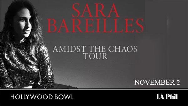 None -  Sara Bareilles at Hollywood Bowl (11/2) (Pair)