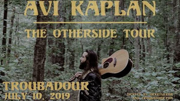 None - Avi Kaplan at the Troubadour (7/10) (PAIR)