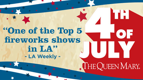 None - All-American Fourth of July aboard the Queen Mary (7/4) (4-pack)