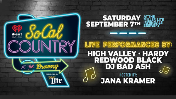 None - SoCal Country at the Brewery presented by Miller Lite (9/7) (Pair)