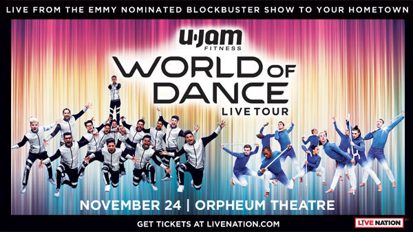 None - World of Dance Live! Tour at Orpheum Theatre (11/24)