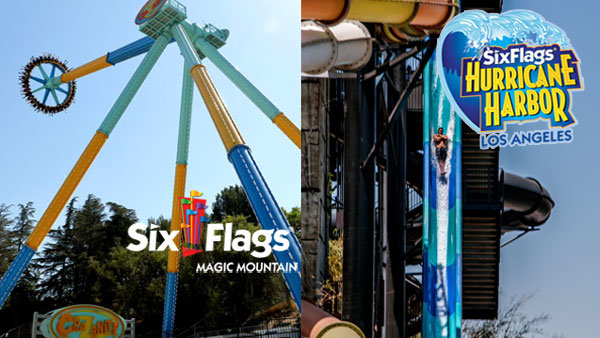 None - Win Tickets to Six Flags Magic Mountain AND Six Flags Hurricane Harbor (4-packs)