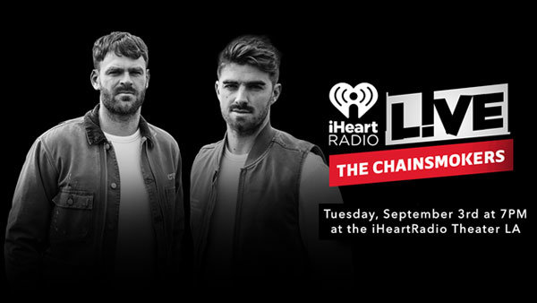 None - iHeartRadio LIVE with The Chainsmokers (9/3) (Pair)