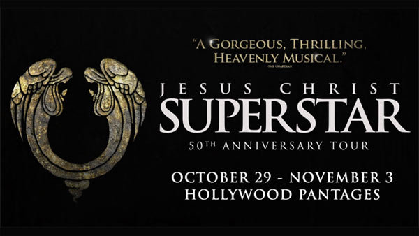 None - JESUS CHRIST SUPERSTAR at Hollywood Pantages (10/31) (Pair)