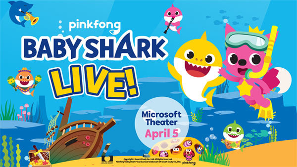 None - BABY SHARK LIVE at Microsoft Theater (4/5/20) (4-pack)