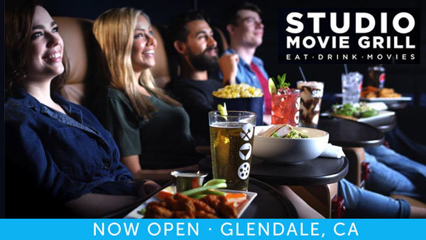 None - Studio Movie Grill Tickets + $100 Gift Card