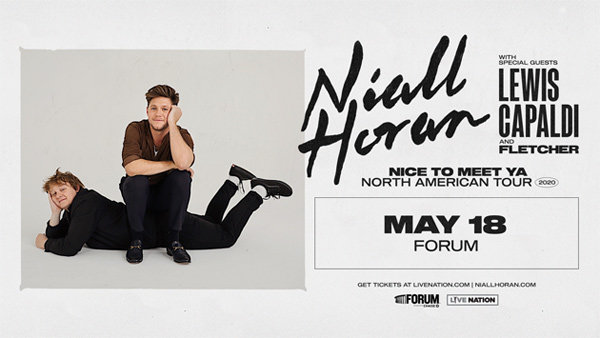 image for Niall Horan at The Forum (5/18)