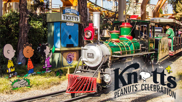 image for Win Tickets to the Knott's PEANUTS Celebration (4-pack)