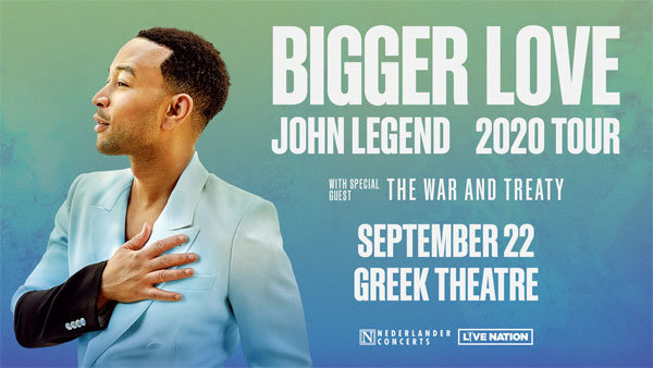 image for Enter to win Tickets to See John Legend at Greek Theatre (9/22)