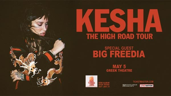 image for Enter to Win Tickets to See Kesha at Greek Theatre (5/5)