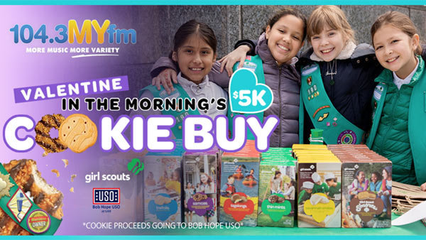 image for Valentine In The Morning's $5,000 Girl Scout Cookie Buy!