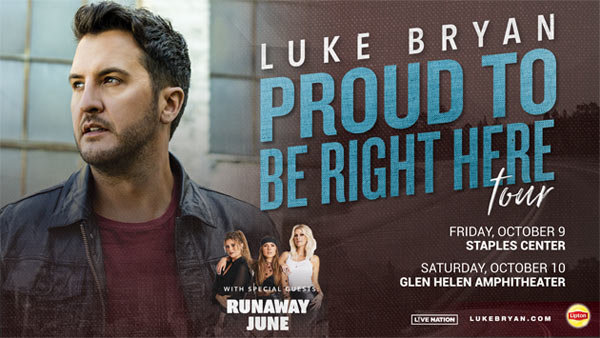 image for  Enter to see Luke Bryan at Glen Helen Amphitheater (10/10)