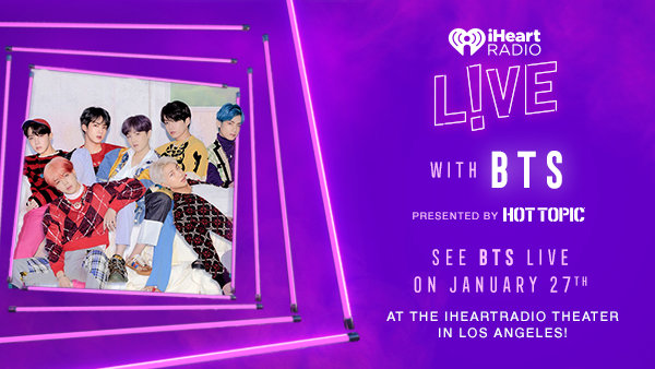 None - Biggest BTS Fan Photo Contest to attend iHeartRadio LIVE with BTS presented by HOT TOPIC