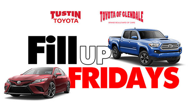image for   Enter to win a $100 Gas Card thanks to Toyota of Glendale and Tustin Toyota