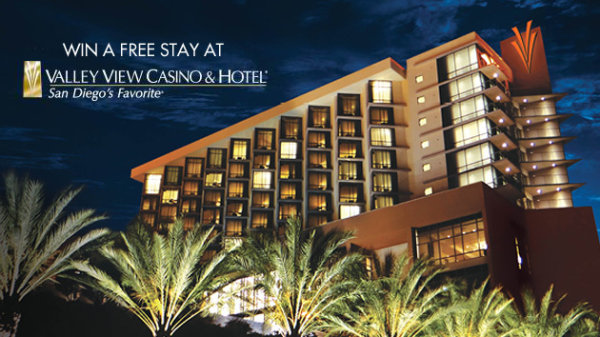 None - Win a Free Stay at Valley View Casino & Hotel!