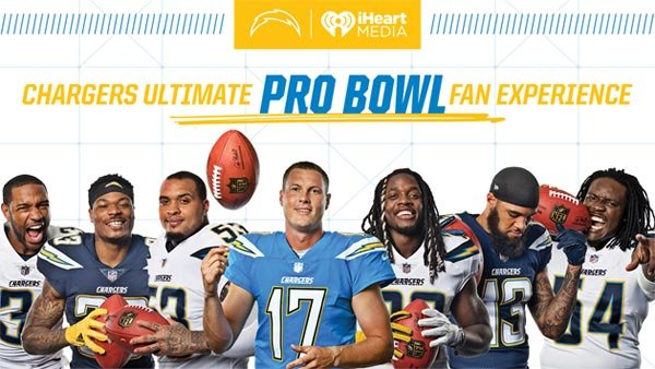 "None - Chargers ""Ultimate Fan Experience"" at Pro Bowl Game in Orlando (1/25-1/28)"