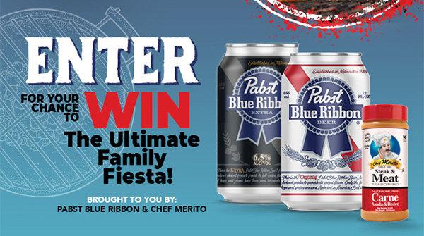 None - Win The Ultimate Family Fiesta!