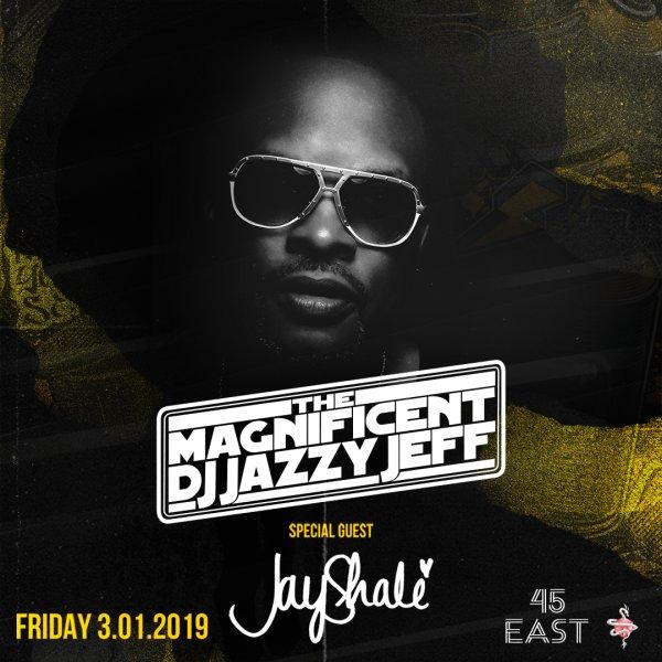 None - DJ JAZZY JEFF - 3/01 @ 45 East